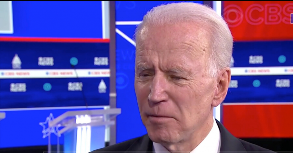 Joe Biden CBSN Video Screenshot