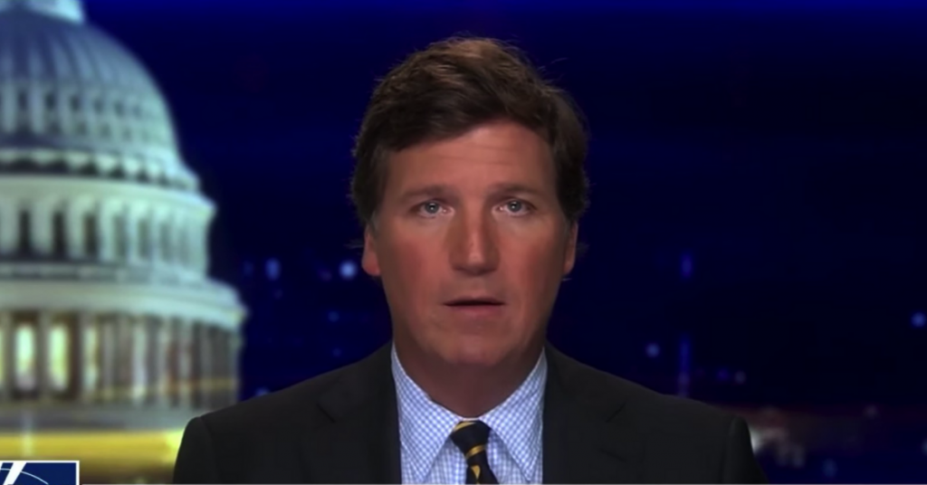 Tucker Carlson via youtube screenshot