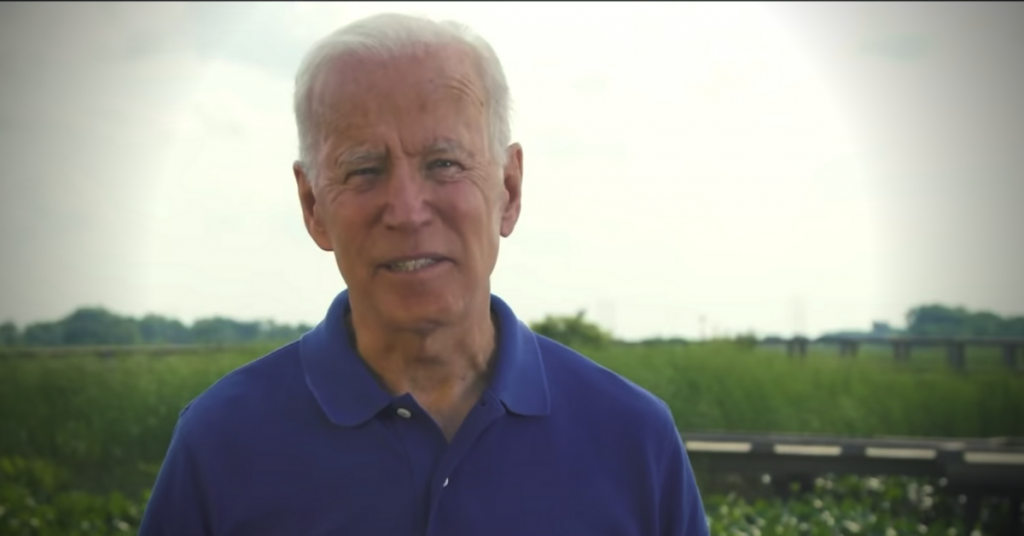 Biden via Youtube Screenshot